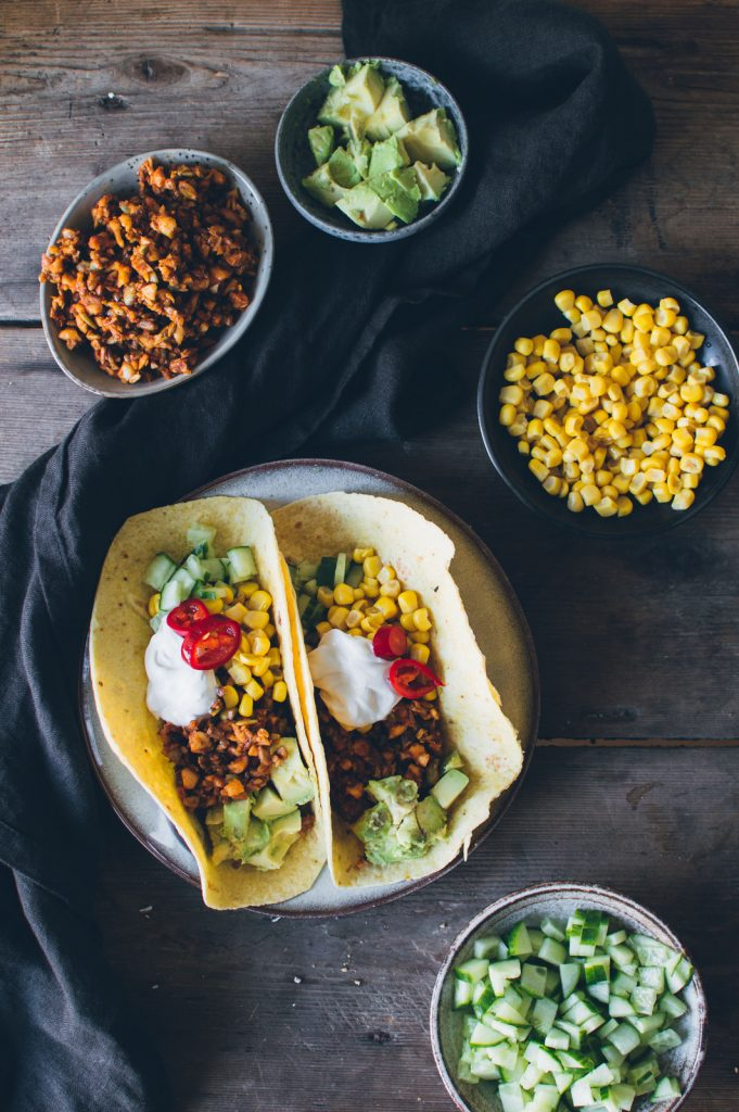 Vegan Nut & Seed Tacos | The Nordic Kitchen